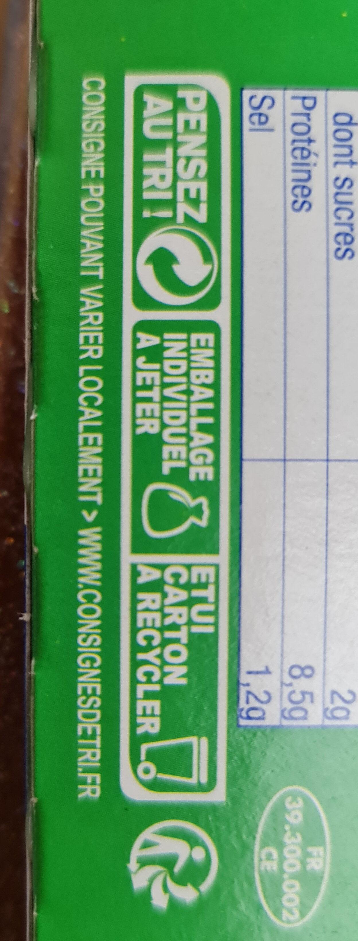 Vache grosjean - Instruction de recyclage et/ou informations d'emballage - fr