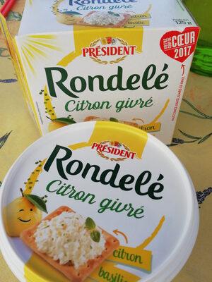RONDELE CITRON GIVRE - Produit - fr