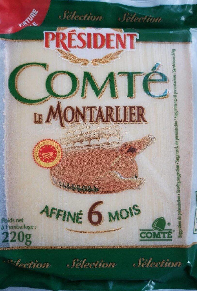 Comté Le Montarlier - Product