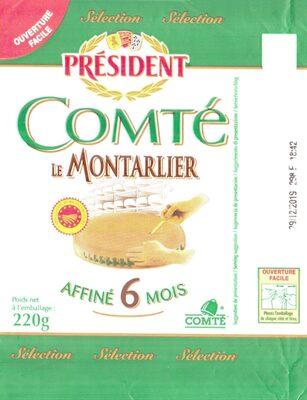 Comté Le Montarlier Affiné 6 mois - Product