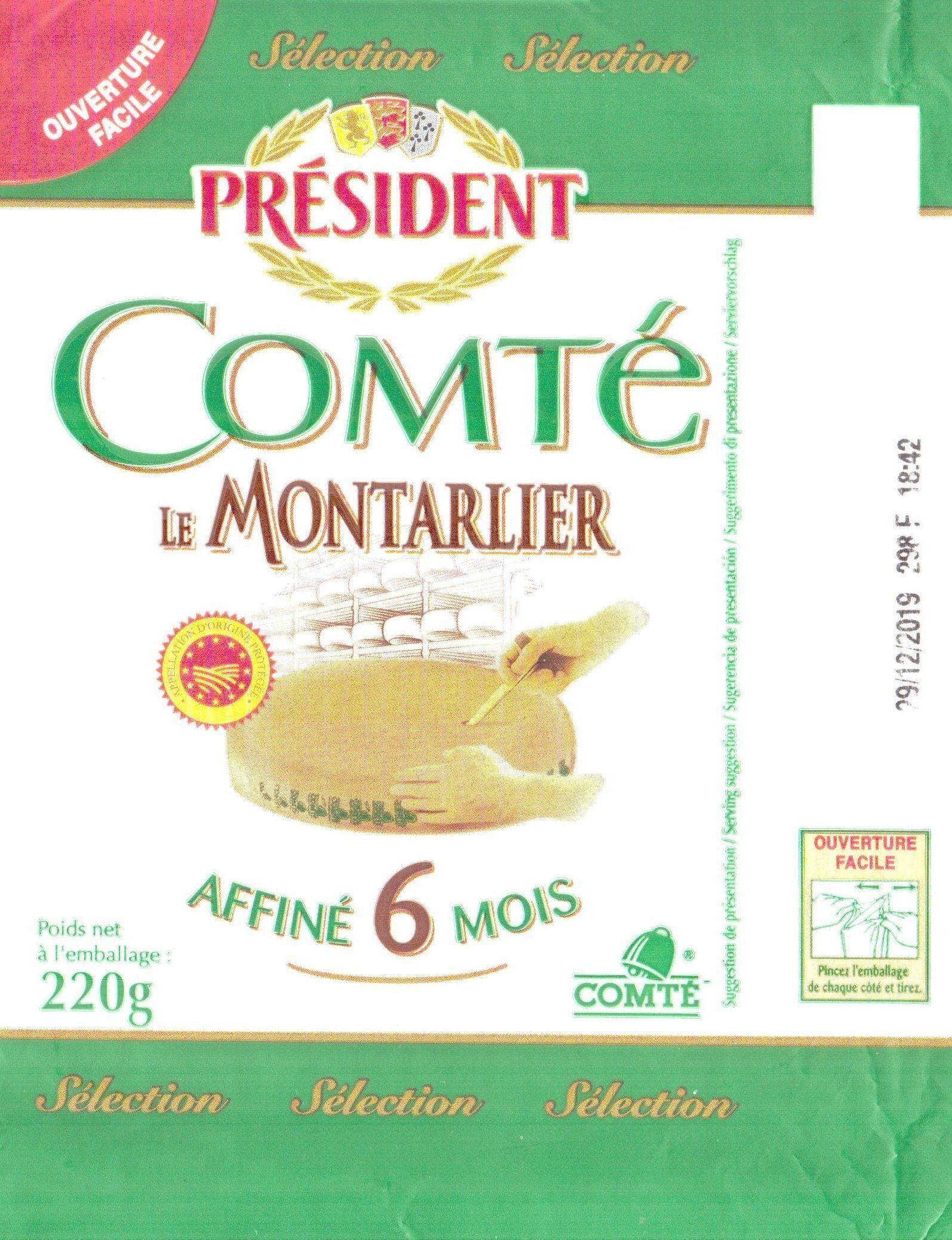 Comté Le Montarlier - Product - fr