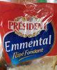 Rallado Emmental 1KG Président - Product