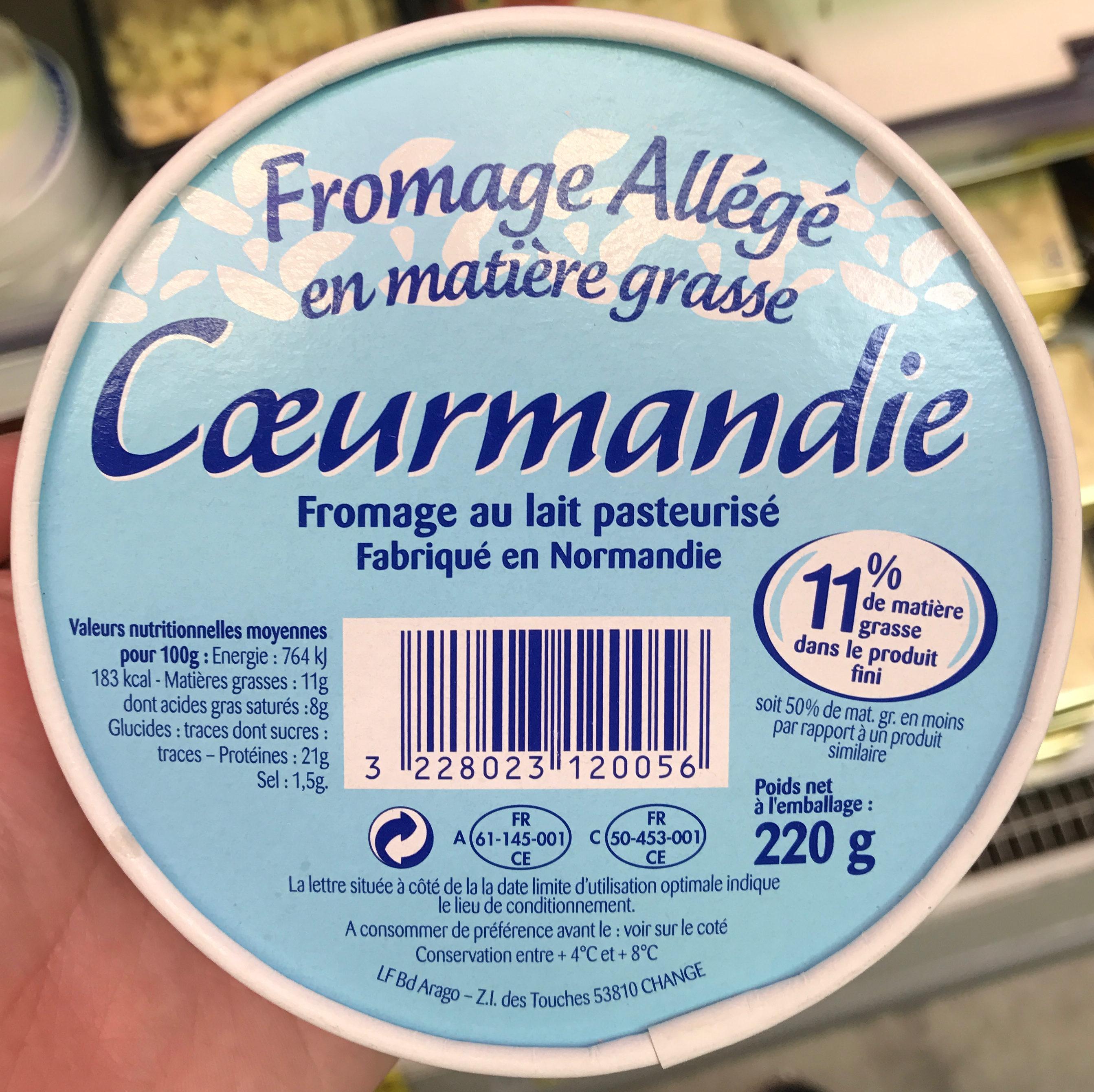 Fromage all g en mati re grasse sans marque 220 g - Quantite de fromage par personne ...