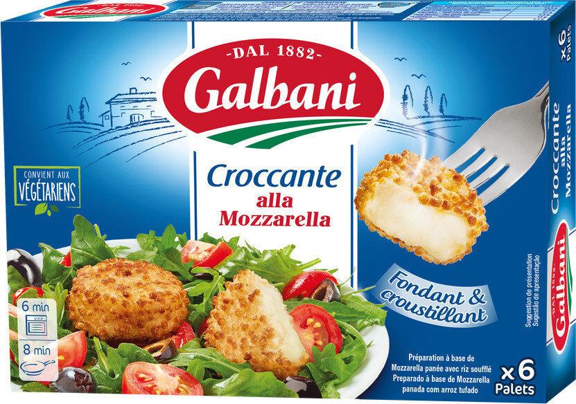 Croccante alla mozzarella - Product - fr