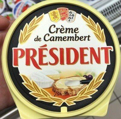 Crème de camembert à tartiner - Produit - fr