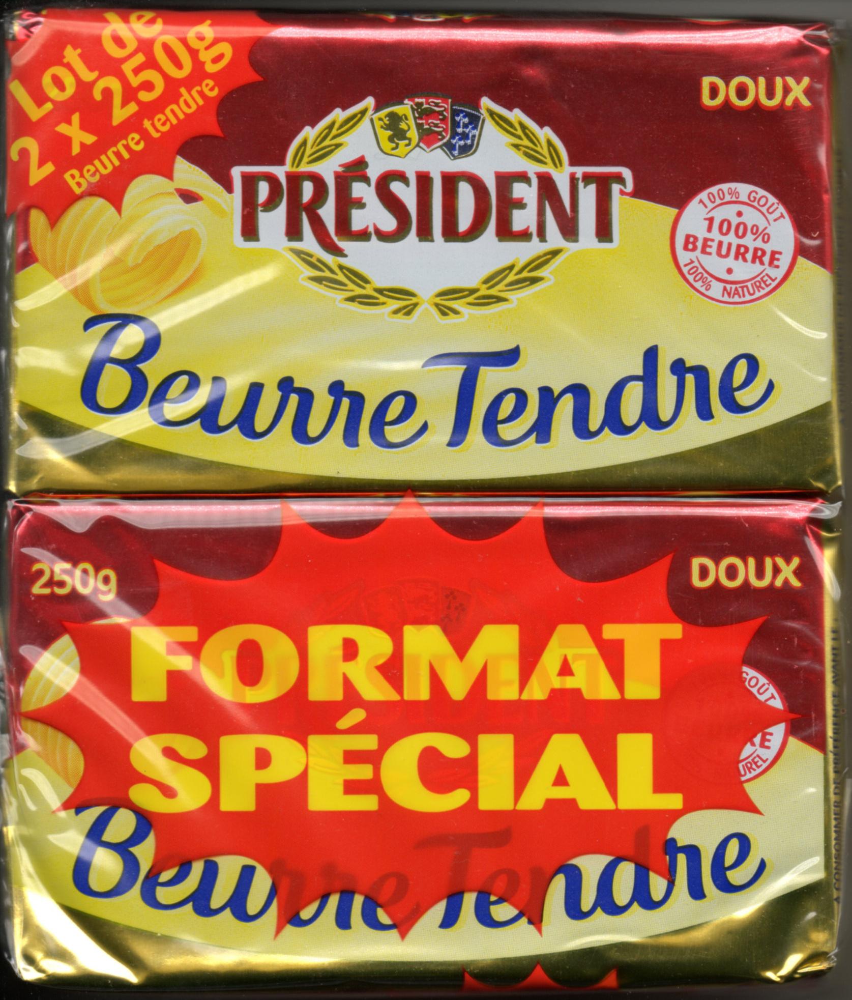 Beurre tendre (lot de 2) - Product - fr