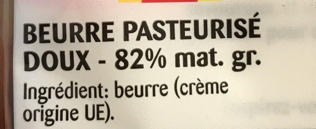 Beurre tendre (lot de 2) - Ingrediënten - fr