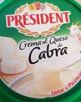 Crema al Queso de Cabra - Product - es