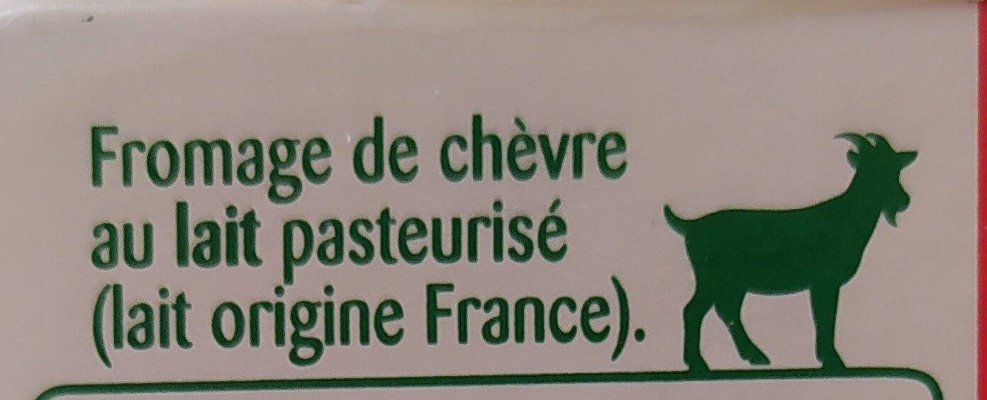 La Brique de chèvre - Zutaten - de