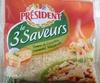 Le 3 Saveurs (Tomme de Caractère, Emmental, Mozzarella 28 % MG - Product