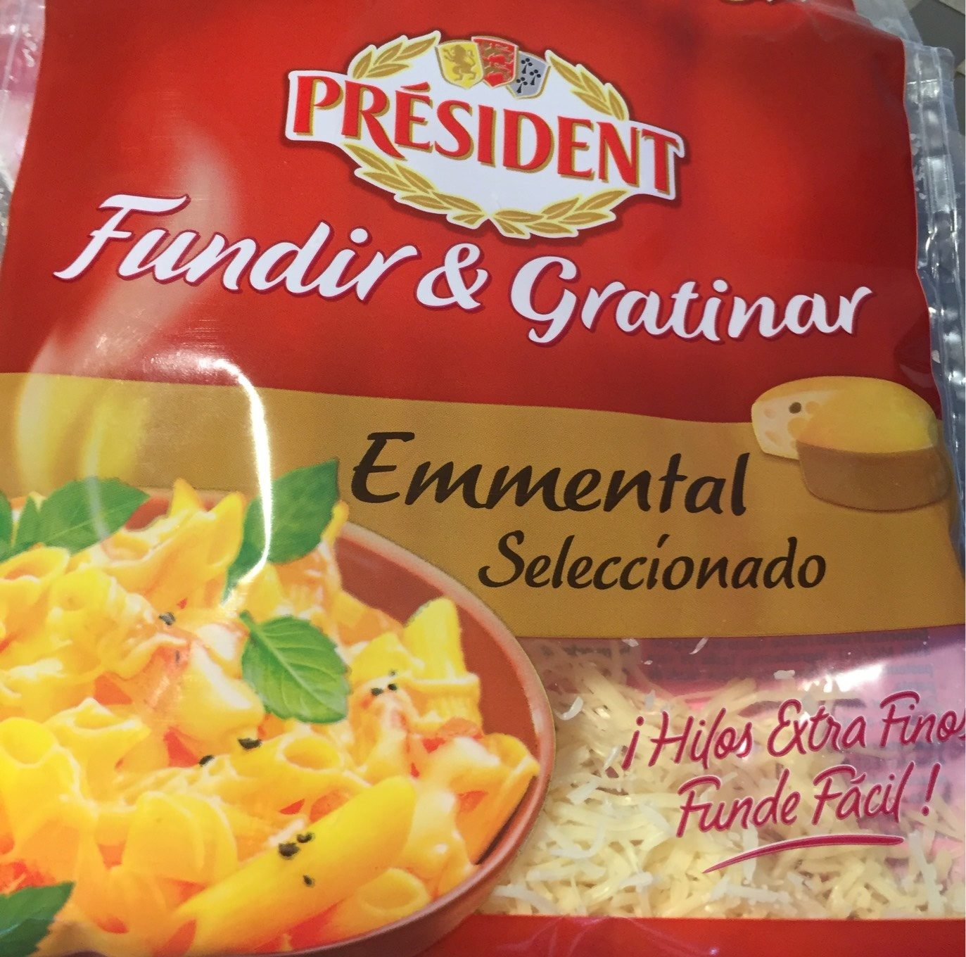 Emmental fundir & gratinar - Producto - fr