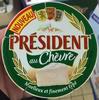 Président au Chèvre (28% MG) - Produit