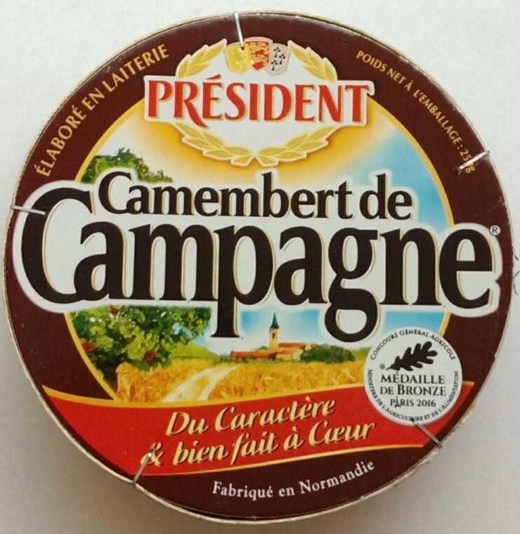 Camembert de Campagne - Produit - fr