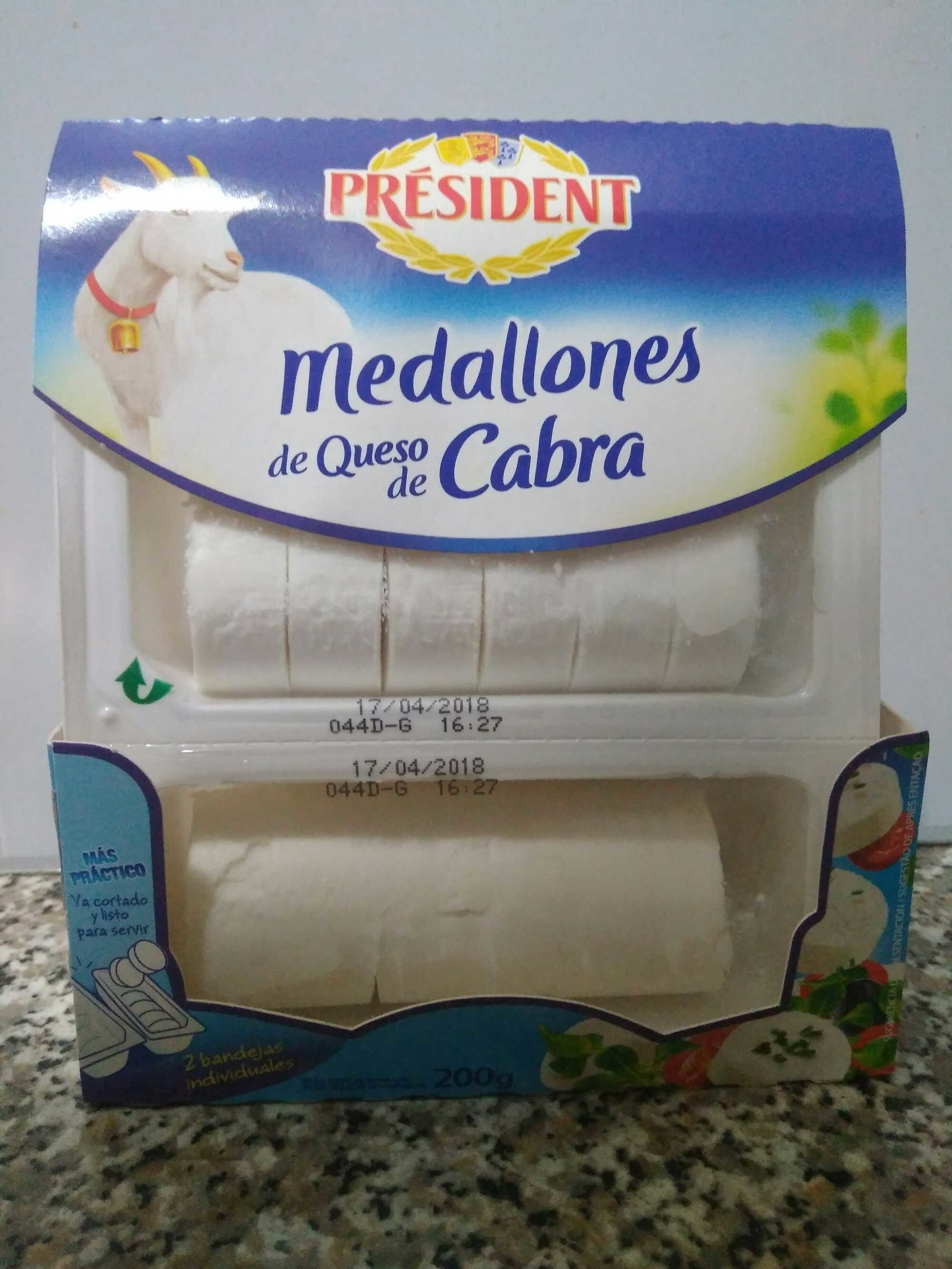 Queso fresco de cabra medallones - Product