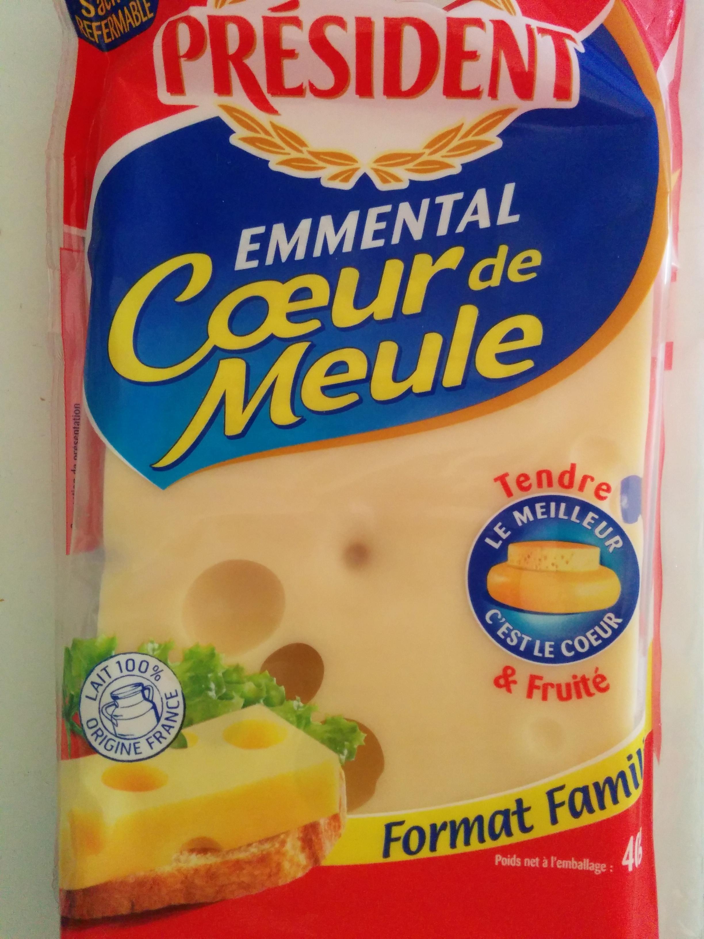 Emmental Cœur de Meule (29 % MG) Format Familial - Produkt - fr
