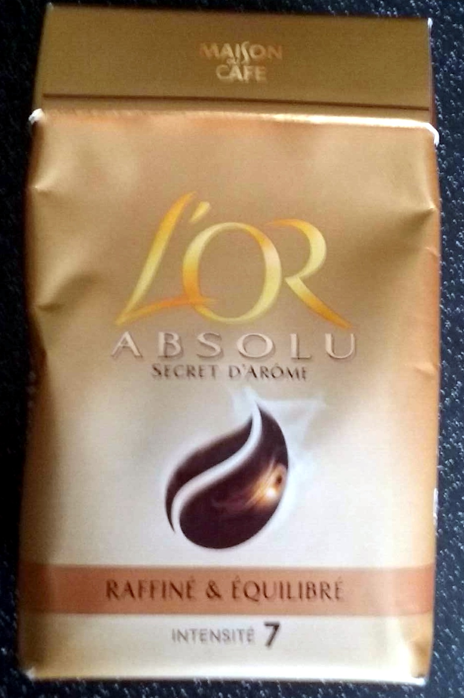 L'Or Absolu - Secret d'arôme - Product