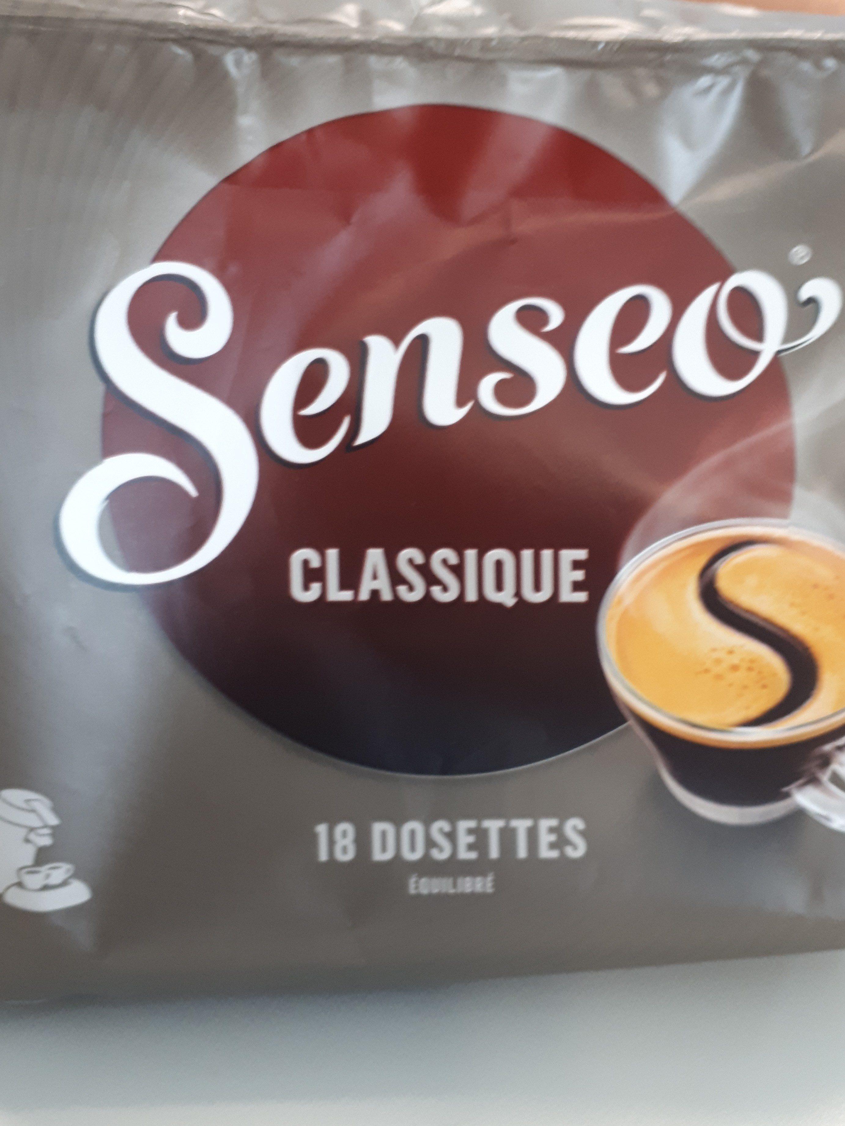 18 Dosettes Senseo classiques - Ingredienti - fr