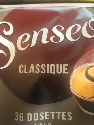 18 Dosettes Senseo classiques - Valori nutrizionali - fr