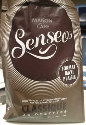 Café Senseo classique x36 - Produit - fr