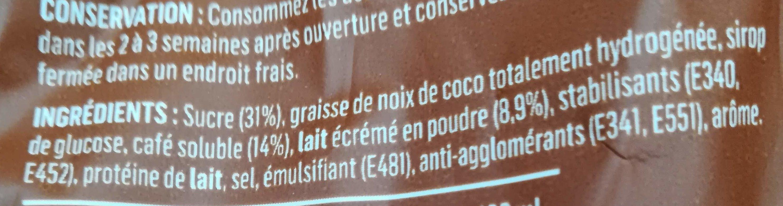 Cappuccino - Ingredienti - fr