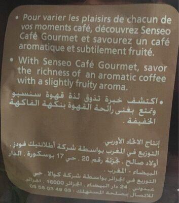 café senseo - Valori nutrizionali - fr
