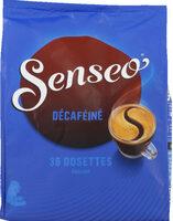 Dosettes de café moulu, décaféiné, format maxi plaisir - Prodotto - fr