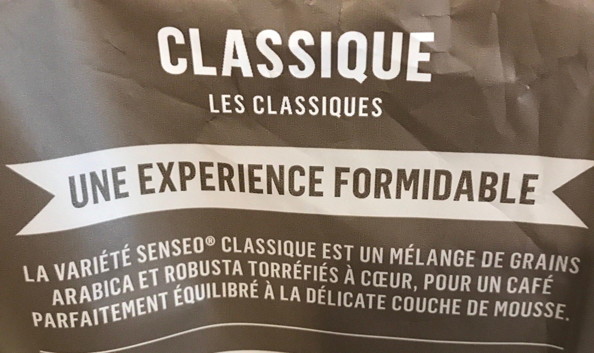 Café dosette - Ingredienti - fr
