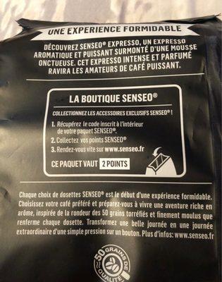 Expresso - Ingrediënten - fr