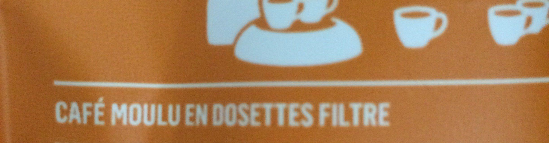 Dosettes de café - Ingredienti - fr