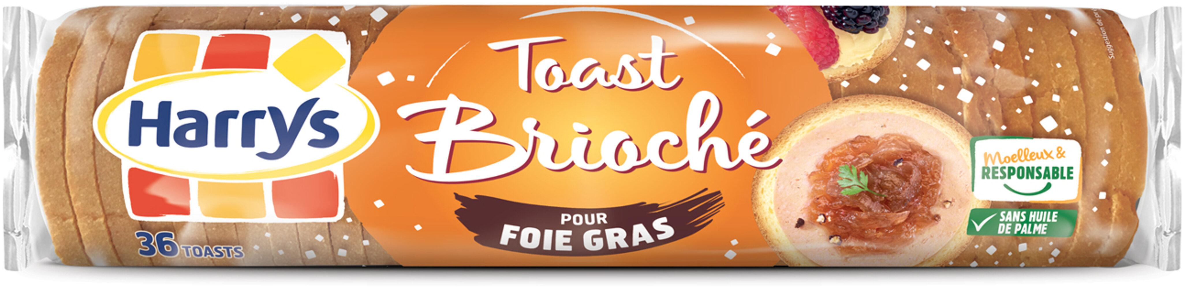 Toasts briochés pour foie gras - Produit - fr
