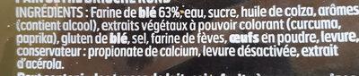 Toast foie gras 280g - Ingrédients - fr