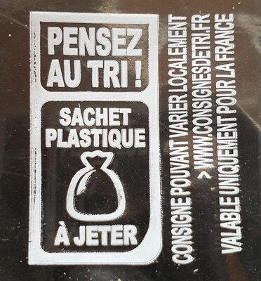 Toast foie gras 280g - Instruction de recyclage et/ou informations d'emballage - fr