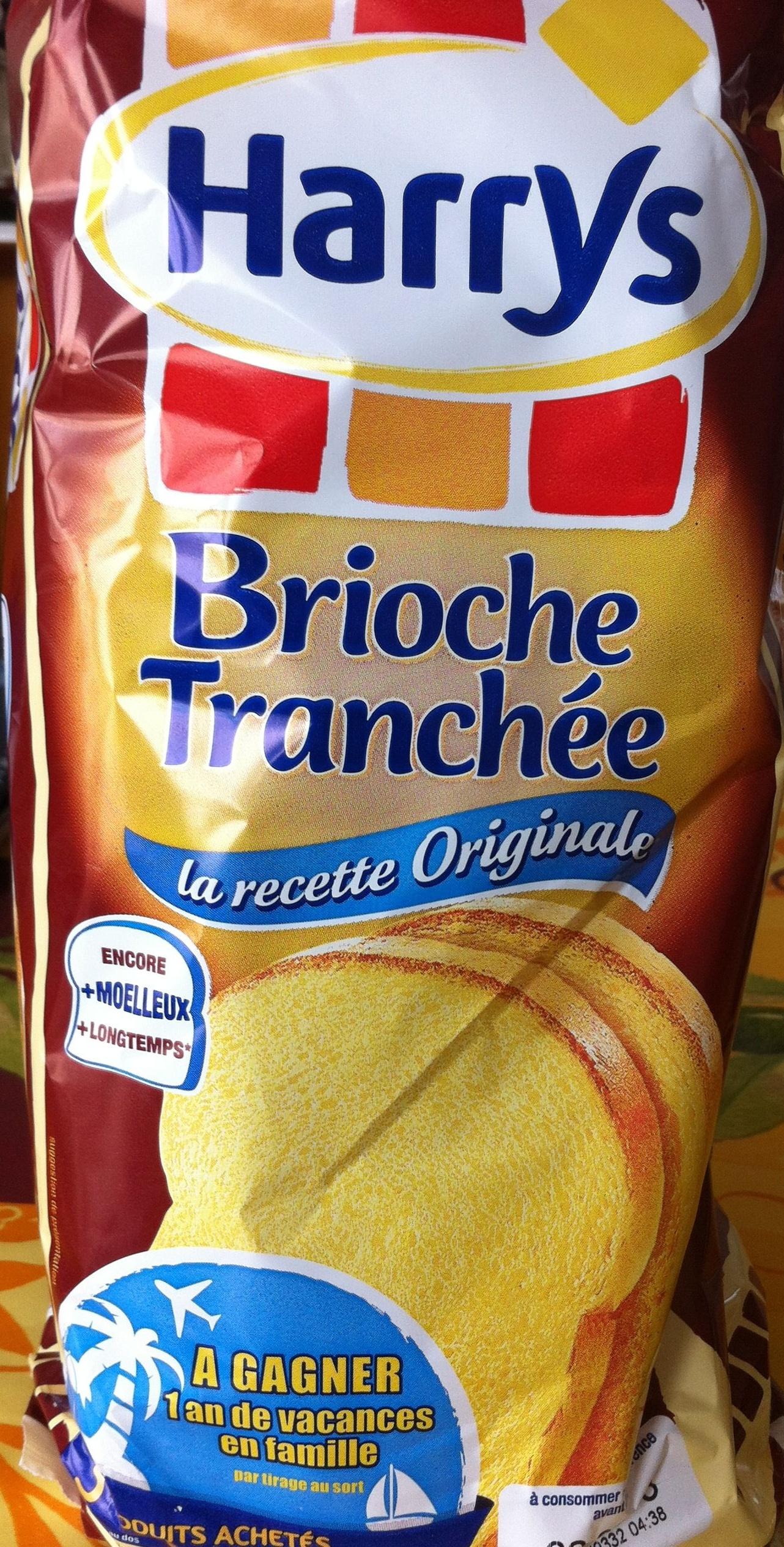 La recette Originale - Brioche Tranchée - Product - fr