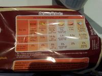 La recette Originale - Brioche Tranchée - Nutrition facts - fr