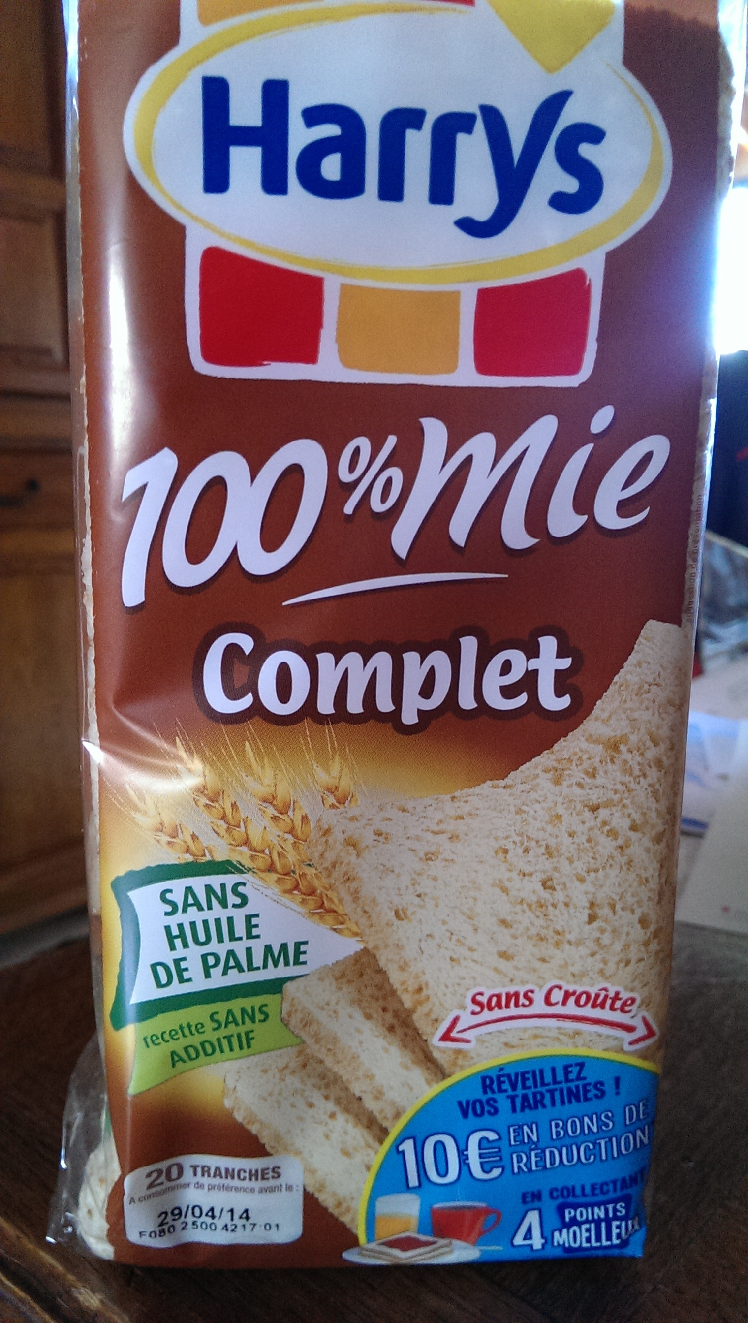 100% mie complet - Prodotto - fr