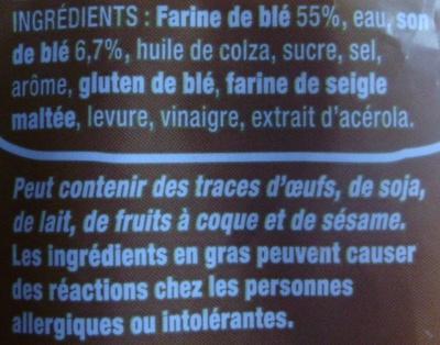 American Sandwich Complet - Ingredienti - fr