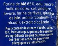 Pain AMS nature - Ingrediënten