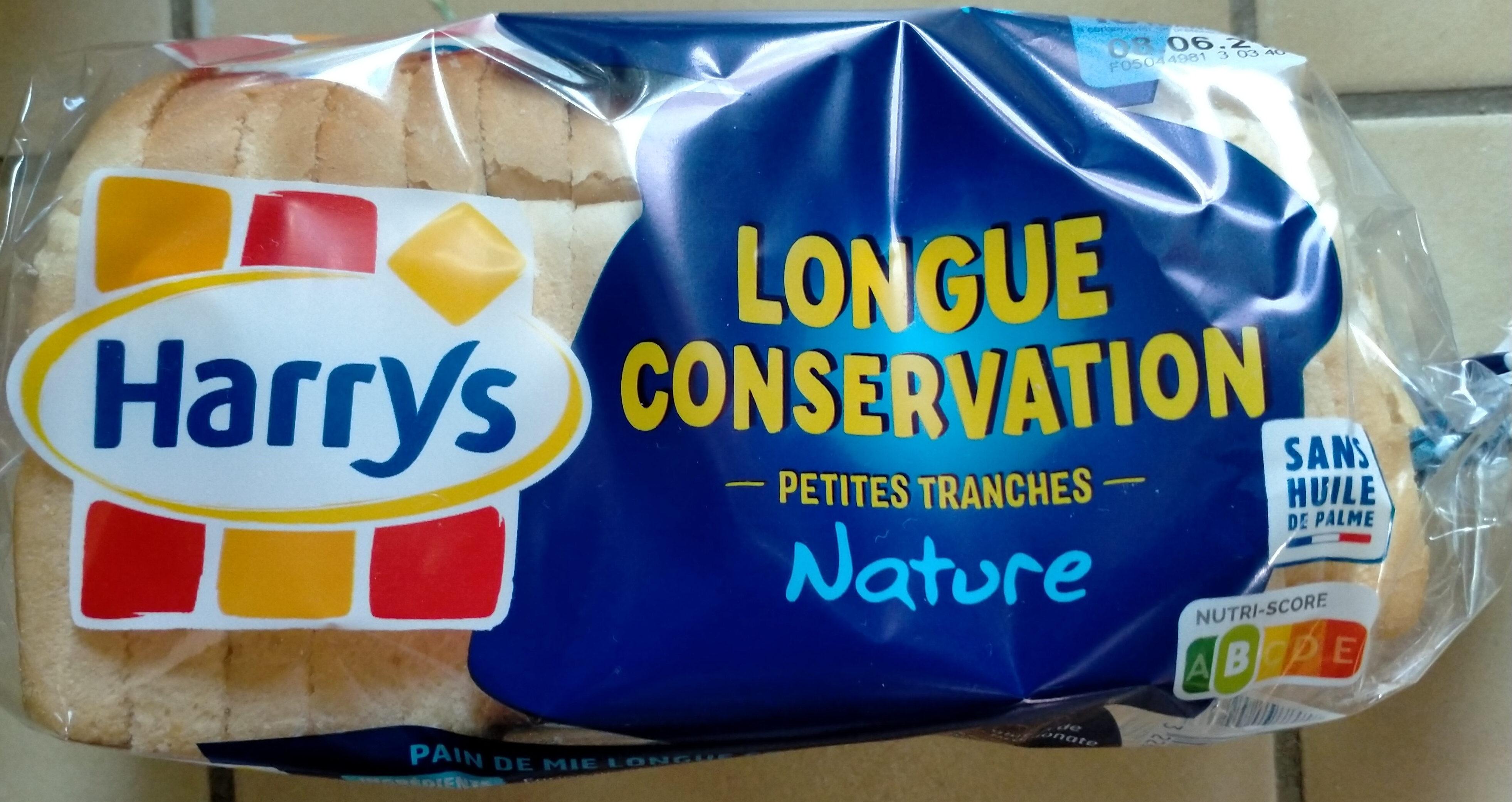 Harrys pain de mie longue conservation nature - Product - fr