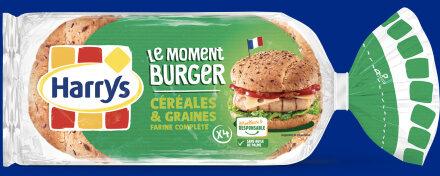 Le moment Burger céréales & graines - Produit - fr