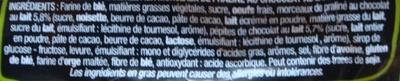 Beau & Bon Brioche tranchée - Eclats de chocolat au lait praliné - Ingredients - fr
