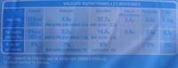 Brioche Tranchée Light - Nutrition facts - fr