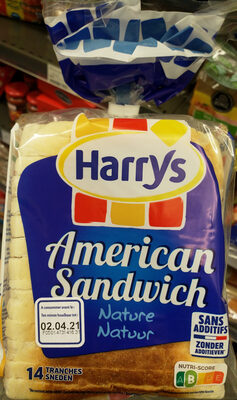 American sandwich - Produit - fr