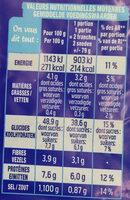 American sandwich - Informations nutritionnelles - fr