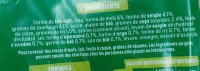 Pain AMS 7 céréales - Ingredienti - fr