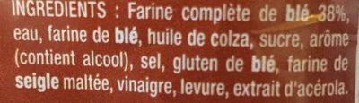 American sandwich complet 600 g congele - Ingredienti - fr