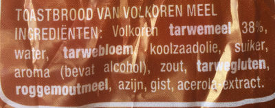 American Sandwich Complet - Ingrediënten - nl