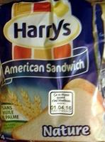 American sandwich nature - Produit - fr