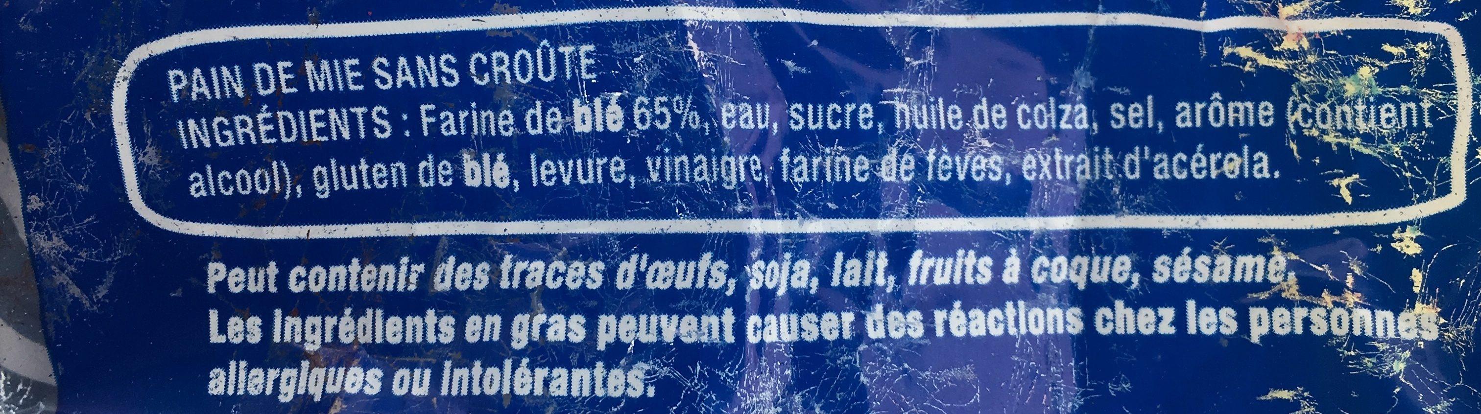 100% Mie Nature sans huile de palme - Ingredienti - fr