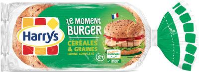 Burger céréales et graines - Product - fr