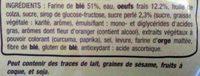 Brioche tressée - Ingredienti - fr